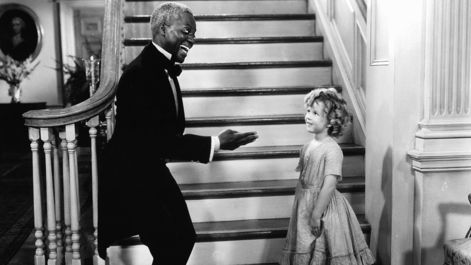 "Bill ""Bojangles"" Robinson and Shirley Temple in 'The Little Colonel' (1935)"